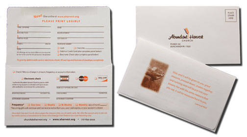 offering envelope with flap