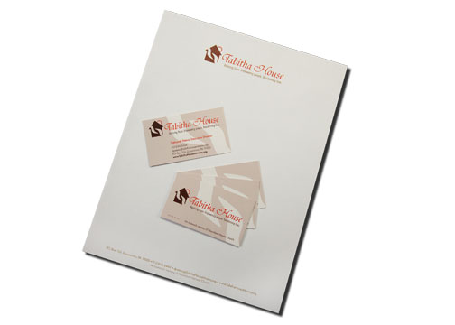 letterhead and double-sided business card